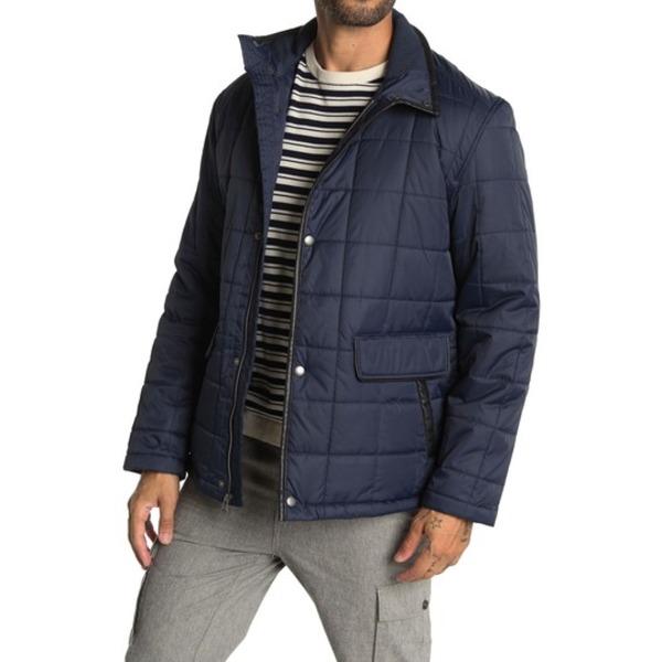 <title>コールハーン メンズ アウター ジャケット ブルゾン NAVY 全商品無料サイズ交換 激安卸販売新品 Quilted Jacket</title>
