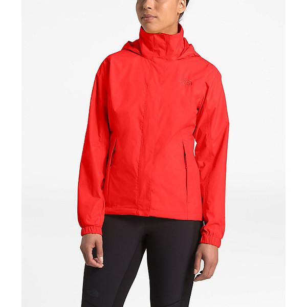 ノースフェイス レディース ジャケット&ブルゾン アウター The North Face Women's Resolve 2 Jacket Fiery Red