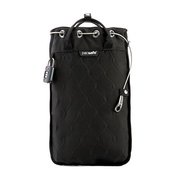 パックセーフ レディース ボストンバッグ バッグ Pacsafe Travelsafe GII Portable Safe Black