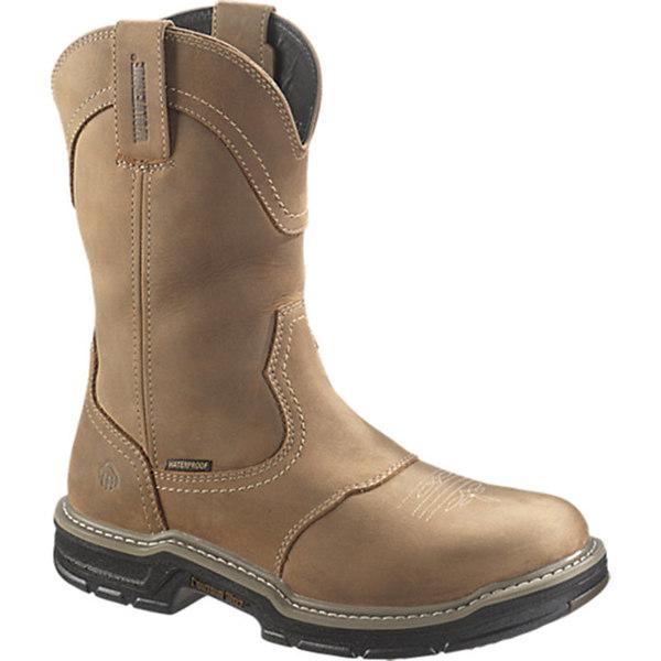 大放出セール ウルヴァリン メンズ シューズ ブーツ レインブーツ Brown 全商品無料サイズ交換 Wolverine Waterproof Boot Toe Men's Wellington Anthem 人気商品 Steel
