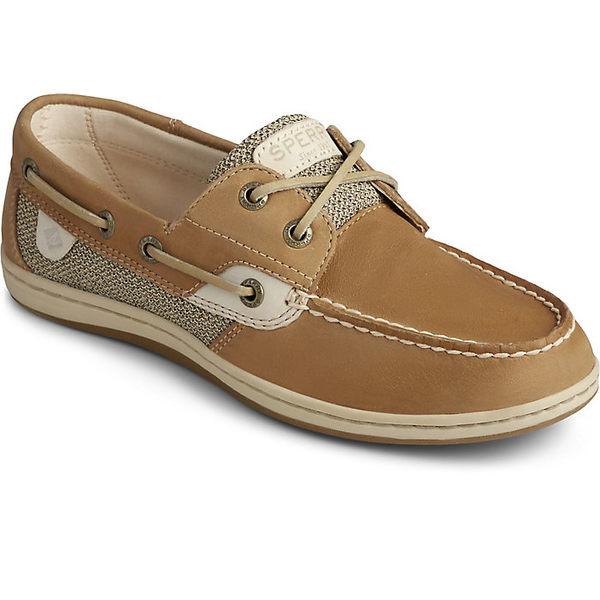 スペリー レディース スニーカー シューズ Sperry Women's Koifish Boat Shoe Linen / Oat