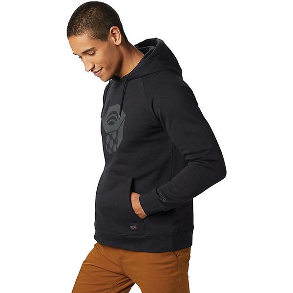 マウンテンハードウェア メンズ パーカー・スウェットシャツ アウター Mountain Hardwear Men's Hardwear Logo Pullover Hoody Black