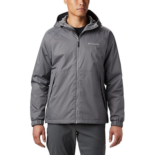 コロンビア メンズ ジャケット&ブルゾン アウター Columbia Men's Helvetia Heights Jacket City Grey