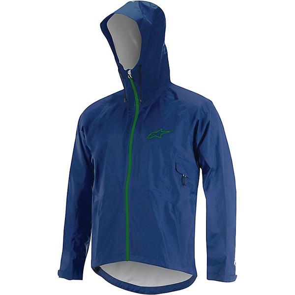 アルパインスターズ メンズ ジャケット&ブルゾン アウター Alpine Stars Men's All Mountain Jacket Abyss Blue / Bright Green