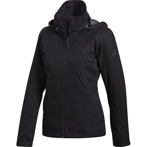 アディダス レディース ジャケット&ブルゾン アウター Adidas Women's Wandertag Insulated Jacket Black