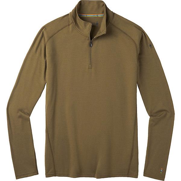 スマートウール メンズ フィットネス スポーツ Smartwool Men's Merino 150 Baselayer 1/4 Zip Top Military Olive