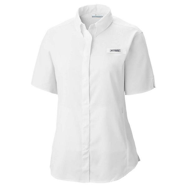コロンビア レディース シャツ トップス Columbia Women's Tamiami II SS Shirt White