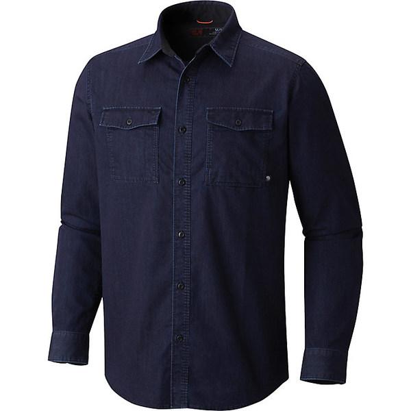 マウンテンハードウェア メンズ シャツ トップス Mountain Hardwear Men's Hardwear Denim Shirt Dark Wash