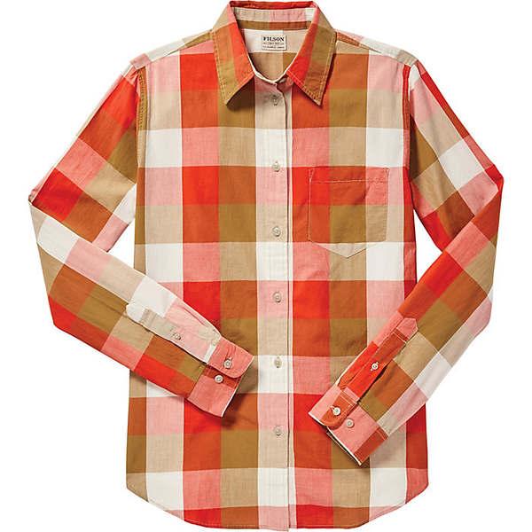 フィルソン レディース シャツ トップス Filson Women's Hyland Shirt Red / Tan / Cream Plaid