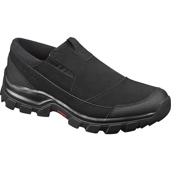 サロモン メンズ ブーツ&レインブーツ シューズ Salomon Men's Snowclog Boot Black / Black / Black