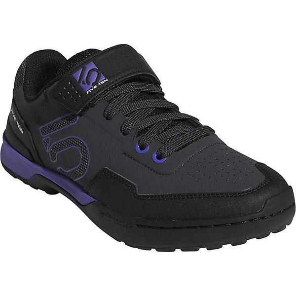 入手困難 ファイブテン レディース スポーツ サイクリング Black Purple Carbon Lace Five Women's 本日の目玉 Kestrel Shoe 全商品無料サイズ交換 Ten