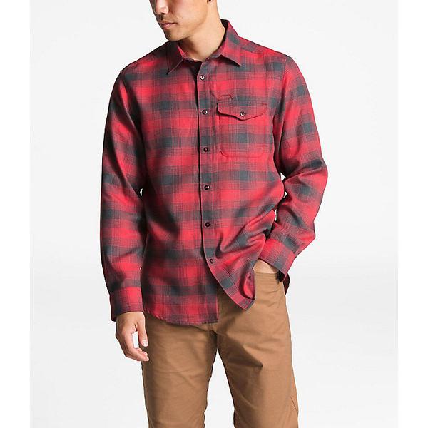 ノースフェイス メンズ シャツ トップス The North Face Men's ThermoCore LS Shirt TNF Red Prospect Plaid