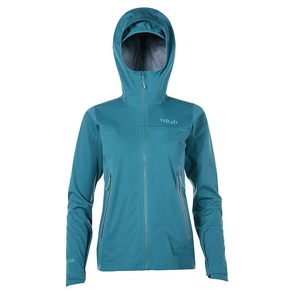 ラブ レディース ジャケット&ブルゾン アウター Rab Women's Kinetic Plus Jacket Amazon / Shadow