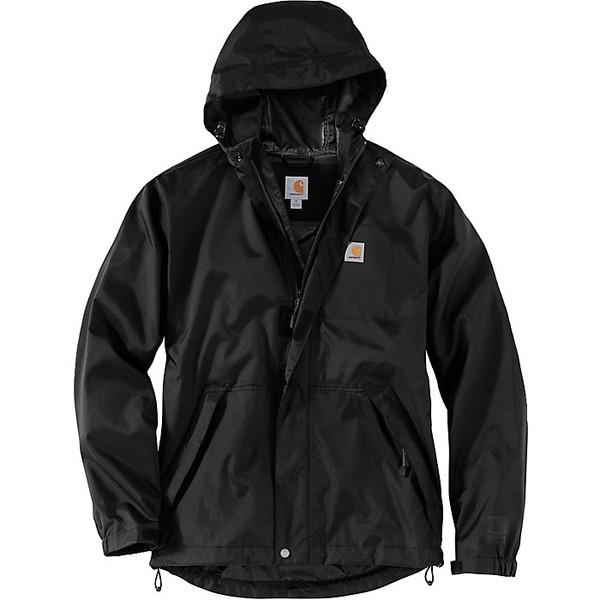 カーハート メンズ ジャケット&ブルゾン アウター Carhartt Men's Dry Harbor Jacket Black