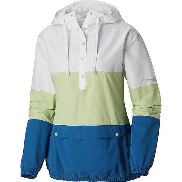 コロンビア レディース ジャケット&ブルゾン アウター Columbia Women's Harborside Windbreaker Jacket Jade Lime / Impulse Blue