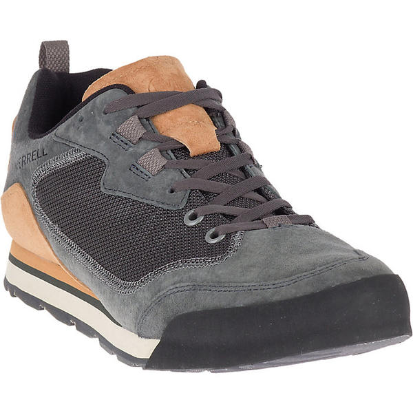 メレル メンズ スポーツ ハイキング 別倉庫からの配送 Granite 全商品無料サイズ交換 Merrell 今季も再入荷 Rock Shoe Men's Suede Travel Burnt
