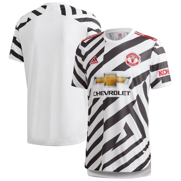 アディダス メンズ ユニフォーム トップス Manchester United adidas 2020/21 Third Authentic Jersey White