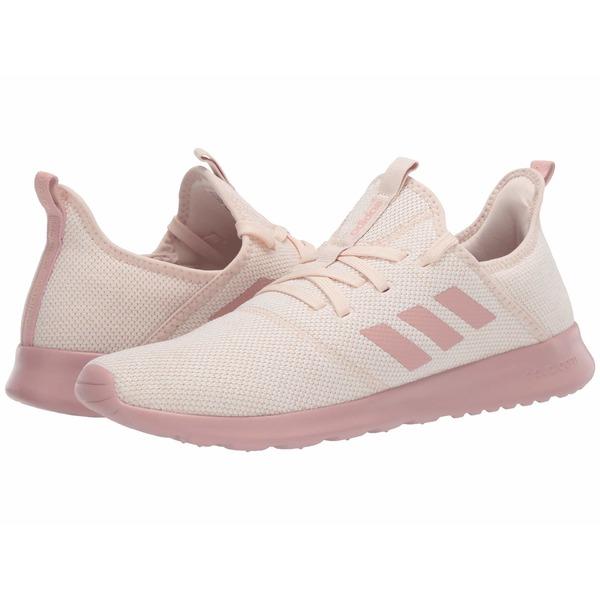 アディダス レディース スニーカー シューズ Cloudfoam Pure Linen/Pink Spirit/Light Granite