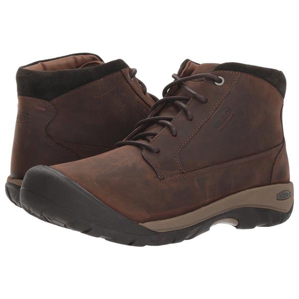 キーン メンズ ブーツ&レインブーツ シューズ Austin Casual WP Boot Chocolate Brown/Black Olive