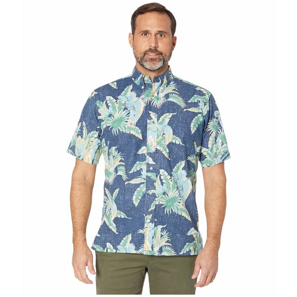 レインスプーナー メンズ シャツ トップス Petit Paradise Classic Fit Weekend Wash Shirt Dress Blues