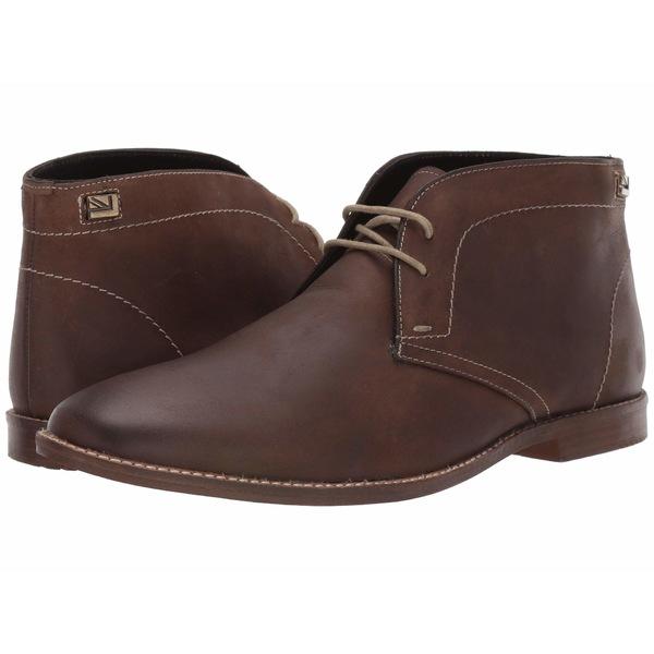 ベンシャーマン メンズ ブーツ&レインブーツ シューズ Gaston Chukka Dark Brown Leather