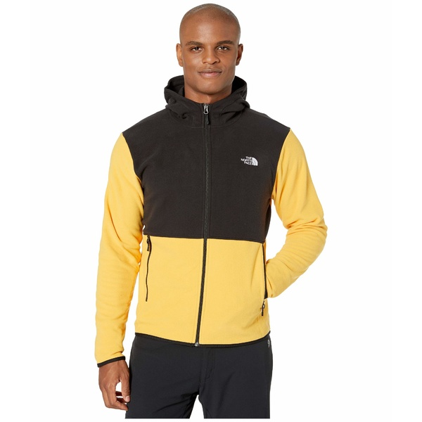 ノースフェイス メンズ コート アウター TKA Glacier Full Zip Hoodie TNF Yellow/TNF Black
