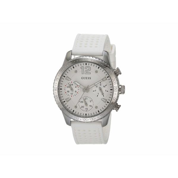 ゲス レディース 腕時計 アクセサリー W1025l1 Silver/White