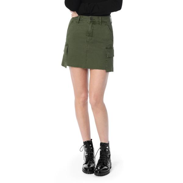 ジョーズジーンズ レディース ファクトリーアウトレット ボトムス スカート FOREST FLOOR 全商品無料サイズ交換 Waisted Mini 正規品スーパーSALE×店内全品キャンペーン Twill Skirt Military High