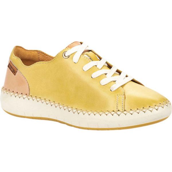 ピコリーノス レディース スニーカー シューズ Mesina Sneaker W6B-6836 Sol Calfskin