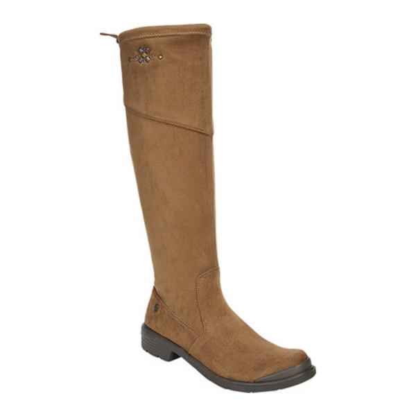 ビジーズ レディース ブーツ&レインブーツ シューズ Boomerang Knee High Boot Toffee Microfiber
