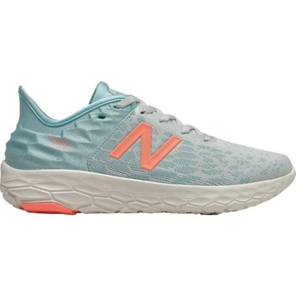 ニューバランス レディース スニーカー シューズ Fresh Foam Beacon v2 Running Shoe Camden Fog/Newport Blue