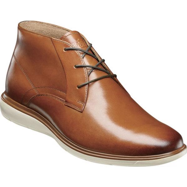 フローシャイム メンズ ブーツ&レインブーツ シューズ Ignight Plain Toe Chukka Boot Saddle Tan Smooth Leather
