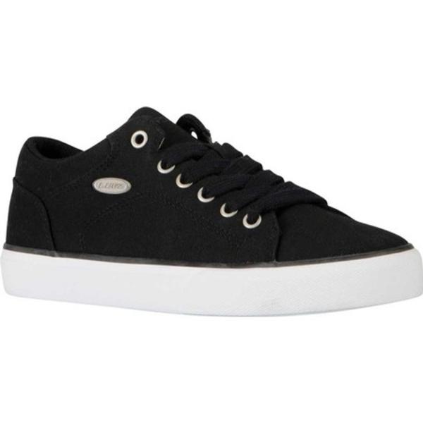 ラグズ レディース スニーカー シューズ Regent Lo Sneaker Black/White Canvas