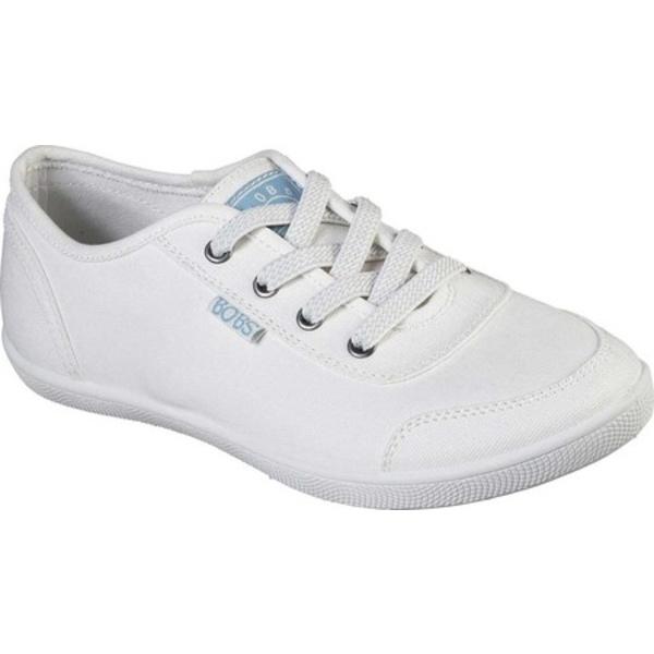 スケッチャーズ レディース スニーカー シューズ BOBS B Cute Bitter Sweet Sneaker White