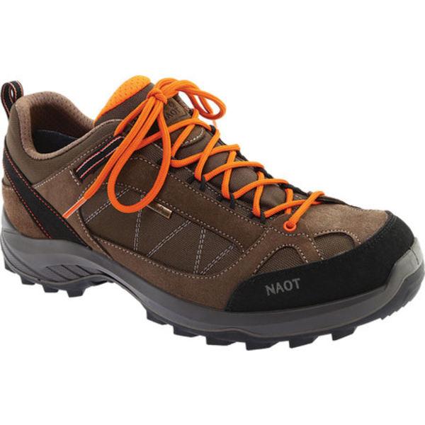 ナオト メンズ ブーツ&レインブーツ シューズ Route Trail Shoe Brown/Tan/Black Polyester/Nylon