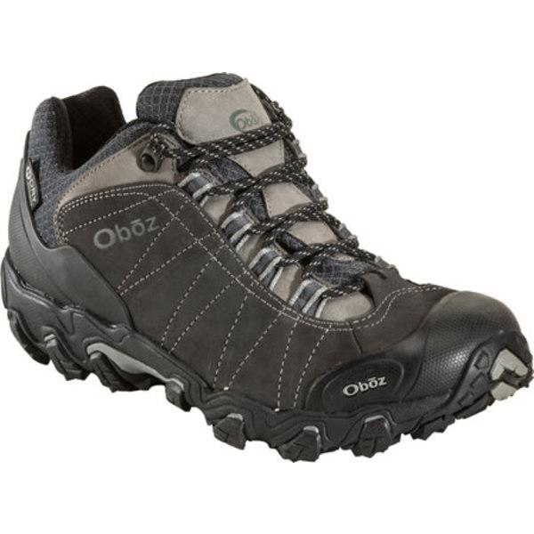 オボズ メンズ ブーツ&レインブーツ シューズ Bridger BDry Hiking Shoe Dark Shadow