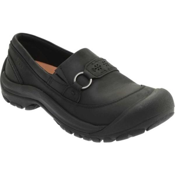 キーン レディース スニーカー シューズ Kaci III Slip-On Shoe Black/Black