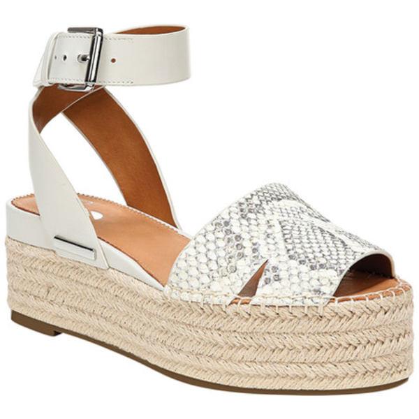 サルトバイフランコサルト レディース サンダル シューズ Lexie Ankle Strap Espadrille Sandal Natural Summer Python Leather