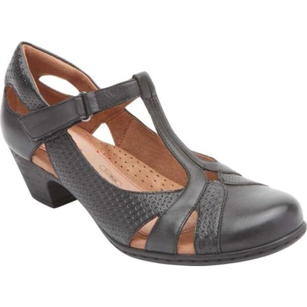 ロックポート レディース サンダル シューズ Brynn Closed Toe Sandal Black Burnished Leather