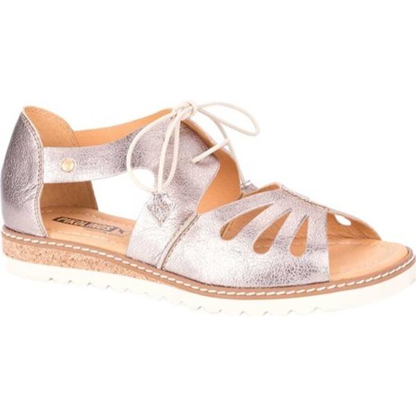 ピコリーノス レディース オックスフォード シューズ Alcudia Lace Up Sandal W1L-0917 Stone Leather