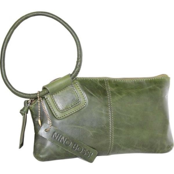 ニノボッシ メンズ 財布 アクセサリー Remi Leather Ringed Clutch Leaf
