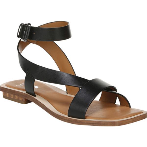 サルトバイフランコサルト レディース サンダル シューズ Ema Ankle Strap Sandal Black Hispacho Leather