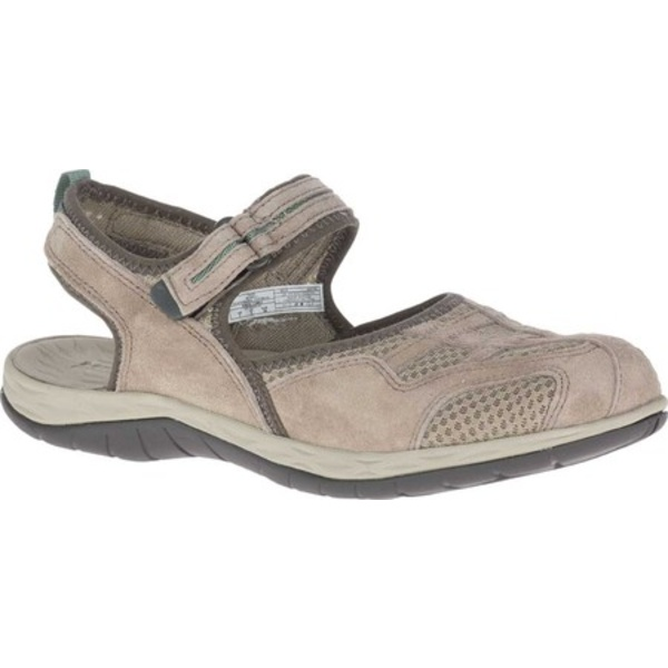 メレル レディース サンダル シューズ Siren 2 Wrap Closed Toe Hiking Sandal Taupe Suede/Mesh