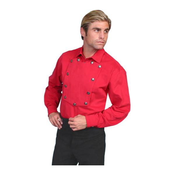 スカーリー メンズ シャツ トップス 538720 Red