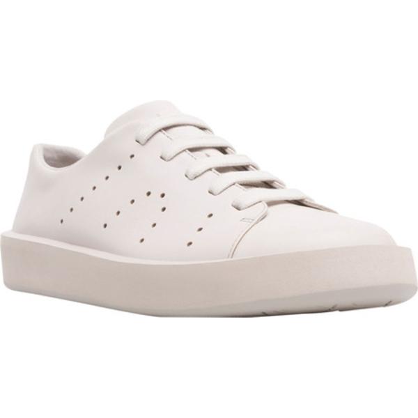 カンペール メンズ スニーカー シューズ Courb Low Top Sneaker Beige Smooth Leather