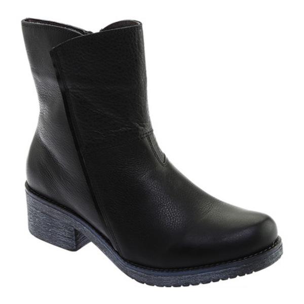 ナオト レディース ブーツ&レインブーツ シューズ Hipster Ankle Boot Soft Black Leather/Black Madras
