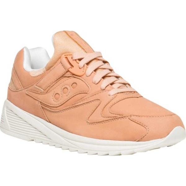 サッカニー メンズ スニーカー シューズ Grid 8500 HT Sneaker Peach/White