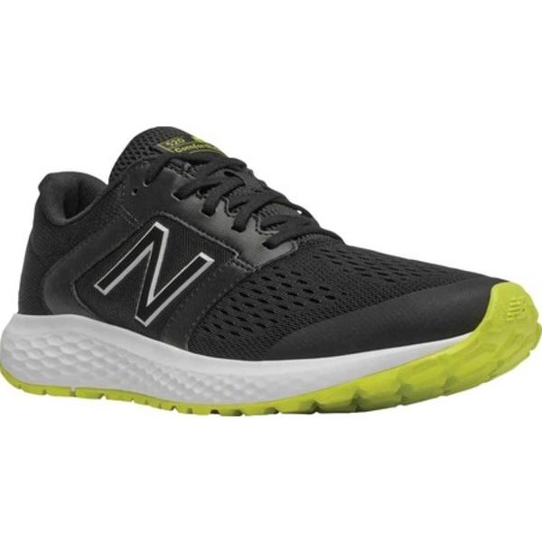 ニューバランス メンズ スニーカー シューズ 520v5 Running Shoe Black/Sulfur