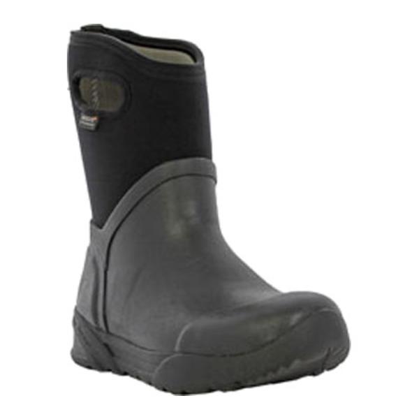 ボグス レディース ブーツ&レインブーツ シューズ Bozeman Mid Boot Black Rubber