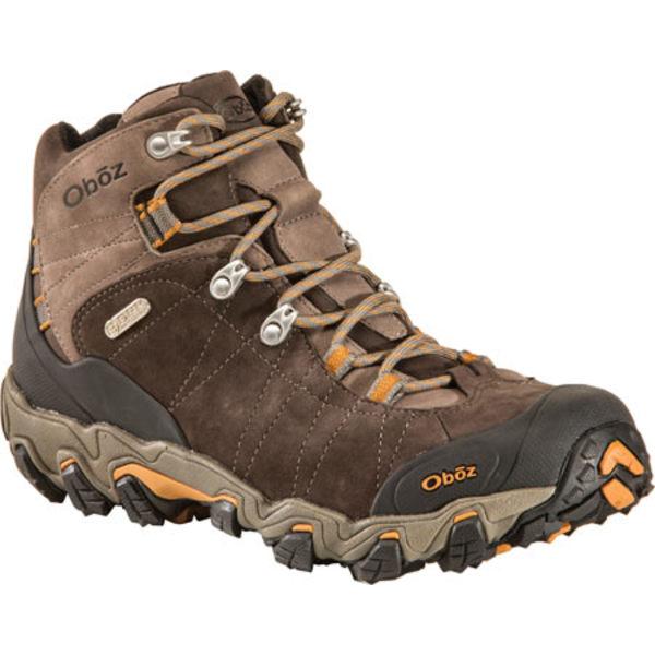 オボズ メンズ ブーツ&レインブーツ シューズ Bridger Mid BDry Hiking Boot Sudan